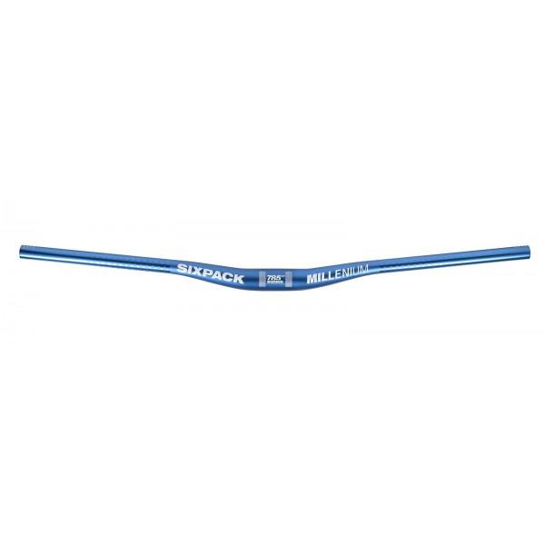 Sixpack millenium785Riser de 785mm de equivalente brazo, Azul, tamaño estándar